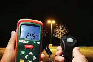 Mini Digital Medidor de luz Luxómetro Iluminómetro con Pantalla LCD, Fotómetro Digital profesional, Medidor Iluminación luzometro luxmetre luzimetro