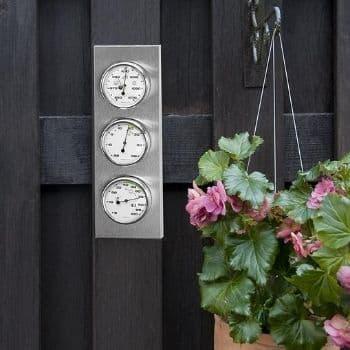 estacion meteorologica analogica exterior