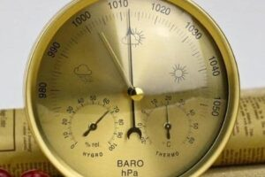estacion meteorologica analogica madera