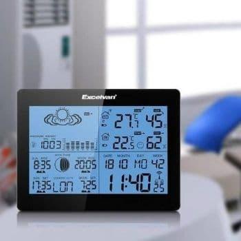 instrucciones estacion meteorologica excelvan